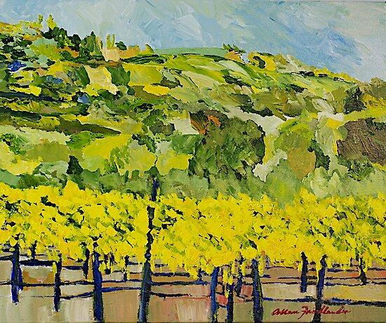 Almost Harvest Time by Allan P Friedlander