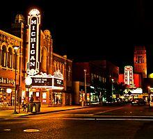 Michigan Theater by Jennifer Hodney