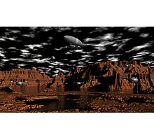 Once Upon A Time on Mars Photographic Print