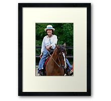 """""""Northern Ohio Outlaws"""" #38 Framed Print"""