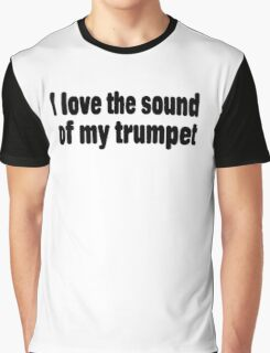 Trumpet Graphic T-Shirt
