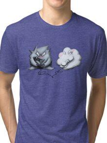 Wanda Happy Cloud and Ivan 01 Tri-blend T-Shirt