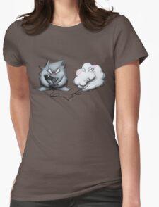 Wanda Happy Cloud and Ivan 01 Womens Fitted T-Shirt