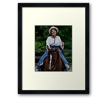 """""""Northern Ohio Outlaws"""" #40 Framed Print"""