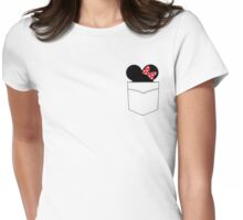 Pocket Minnie Womens Fitted T-Shirt