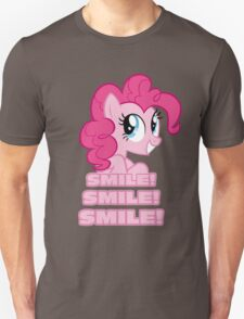 Pinkie Pie - Smile! Smile! Smile! (My Little Pony: Friendship is Magic) Unisex T-Shirt