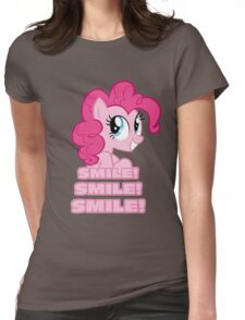 Pinkie Pie - Smile! Smile! Smile! (My Little Pony: Friendship is Magic) Womens Fitted T-Shirt