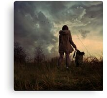 my bags are packed. Canvas Print