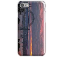 Yaquina Bay Bridge at Sunrise iPhone Case/Skin