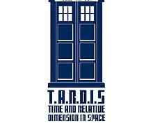 T.A.R.D.I.S by Zoe Toseland