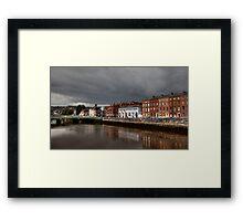 Clouds over Cork Framed Print