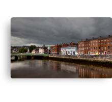 Clouds over Cork Canvas Print