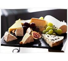 Cheese Feast 2 - Macro Photography Poster