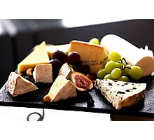 Cheese Feast 2 - Macro Photography Photographic Print