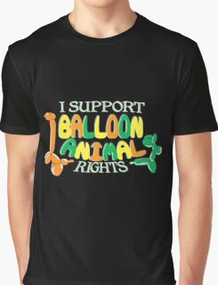 I support balloon animal rights Graphic T-Shirt