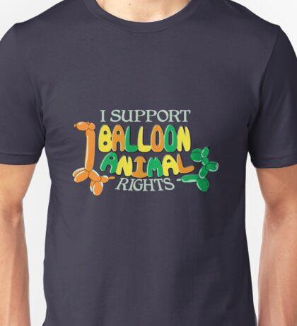 I support balloon animal rights Unisex T-Shirt