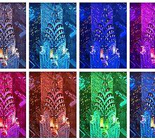 Warholic Remix: New York City - Chrysler Building in Manhattan by artshop77