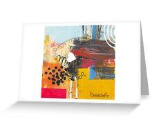 Follow The Fellow Who Follows A Dream. Greeting Card