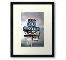 Arizona Route 66 Motel Seligman Framed Print
