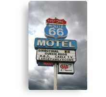 Arizona Route 66 Motel Seligman Canvas Print