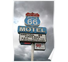 Arizona Route 66 Motel Seligman Poster