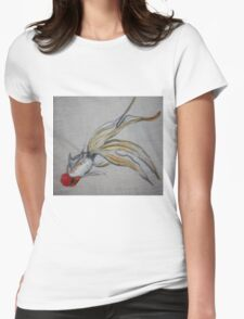 Goldfish Pond (close up #5) Womens Fitted T-Shirt