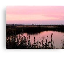 Is Pink what you think, when You think of Me~! Canvas Print