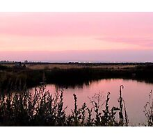 Is Pink what you think, when You think of Me~! Photographic Print