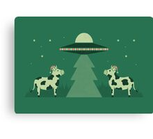 Merry Abduction Canvas Print