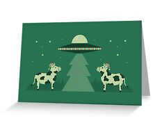 Merry Abduction Greeting Card