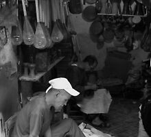 Hand craft in Marrakesh market by thepinproject