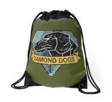 "METAL GEAR SOLID - DIAMOND DOGS ""ARMY GREEN"" BAG Drawstring Bag"