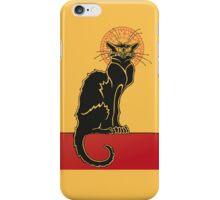 Tournée du Chat Noir - The Black Cat Tour iPhone Case/Skin