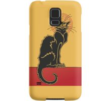 Tournée du Chat Noir - The Black Cat Tour Samsung Galaxy Case/Skin