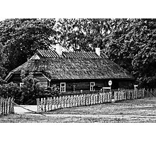 Old Farm House Photographic Print