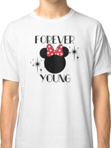 Forever Young Minnie Mouse Classic T-Shirt