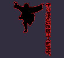 china kung fu Womens Fitted T-Shirt
