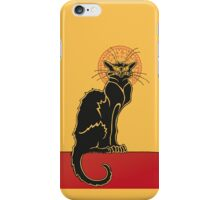 Tournée du Chat Noir - The Black Cat Tour (v2) iPhone Case/Skin