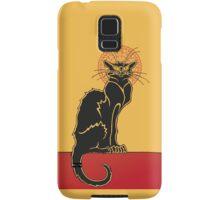 Tournée du Chat Noir - The Black Cat Tour (v2) Samsung Galaxy Case/Skin