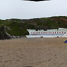 Newquay beach by Woodie
