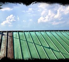 Copper Roof With Verdigris by reedonly