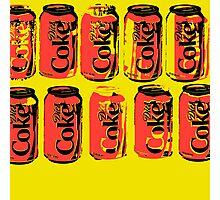 Diet Coke Can II Photographic Print