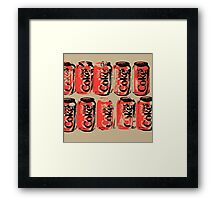 Diet Coke Can III Framed Print