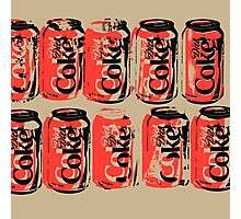Diet Coke Can III Photographic Print