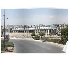 Teddy Kollek Stadium, Jerusalem Poster