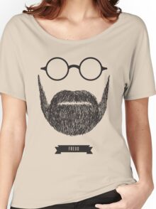 Beards with Glasses – Sigmund Freud Women's Relaxed Fit T-Shirt