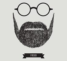 Beards with Glasses – Sigmund Freud Unisex T-Shirt