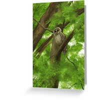 Silent Watcher Greeting Card