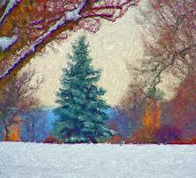 Stunning Fine Art Winter Scene (No.2) by JoieDesigns