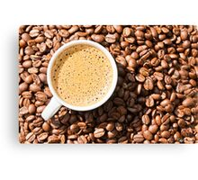 Espresso Love Canvas Print
